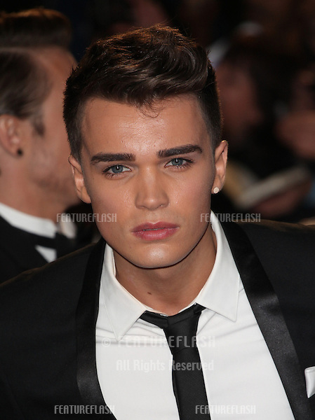 Josh Cuthbert from Union J arriving for the Royal World Premiere of 'Skyfall' at Royal Albert Hall, London. 23/10/2012 Picture by: Alexandra Glen / Featureflash