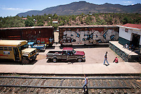 The view from the train stop at Bahuichivo in Copper Canyon, Mexico, Friday, June 20, 2008. This small town is one of the first stops entering the canyon from Los Mochis. ..PHOTOS/ MATT NAGER