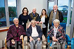 At the Kerry Hospice Foundation and HSE open day people to view the New In Patient Unit on Friday seated l-r: Kathleen O'Connor, Ted Moynihan and Brid Moynihan. Back l-r: Maria O'Connell, PJ O'Connor, Lisa King and Frank Greaney.