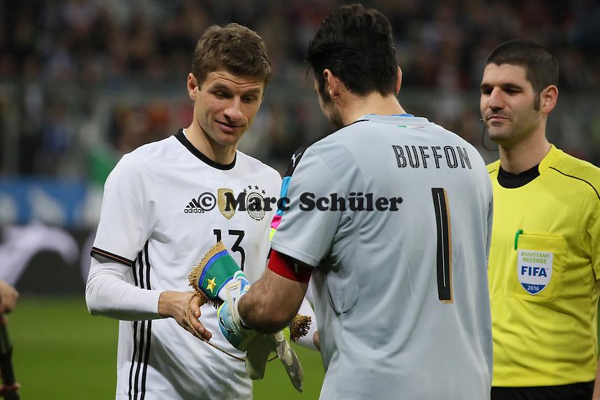Thomas Müller (D) als Kapitän - Deutschland vs. Italien, Allianz Arena München