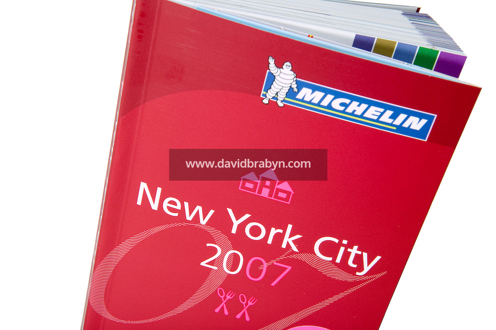 5 November 2006 - New York City, NY - Illustration shot of the 2007 Michelin Guide to restaurants and hotels in New York City.