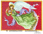 Ingrid, HOLY FAMILIES, HEILIGE FAMILIE, SAGRADA FAMÍLIA, paintings+++++,USISGAI17C,#XR# angels ,vintage