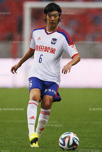 Yuki Kobayashi (Albirex),<br /> July 19, 2014 - Football /Soccer : <br /> 2014 J.LEAGUE Division 1 match<br /> between Urawa Reds 1-0  Albirex Niigata<br /> at Saitama Stadium 2002, Saitama, Japan. <br /> (Photo by Shingo Ito/AFLO SPORT) [1195]