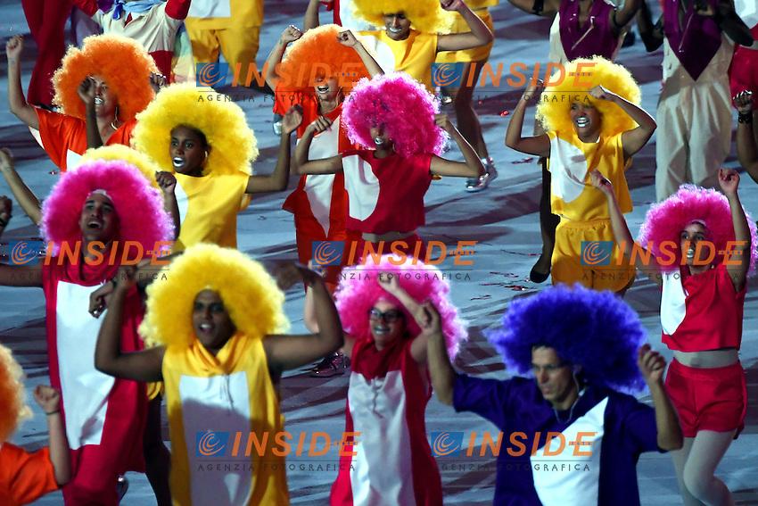 Rio de Janeiro 05-08-2016 Maracana Stadium <br /> Olympic Games Opening Ceremony <br /> Cerimonia di Apertura Olimpiadi Rio 2016 <br /> Foto Andrea Staccioli/Deepbluemedia/Insidefoto