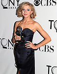 Nina Arianda pictured at the 66th Annual Tony Awards held at The Beacon Theatre in New York City , New York on June 10, 2012. © Walter McBride /  WM Photography .
