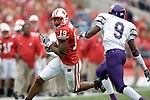 MADISON, WI - SEPTEMBER 9: Wide receiver Paul Hubbard #19 of the Wisconsin Badgers gains yardage after a reception against the Western Illinois Leathernecks at Camp Randall Stadium on September 9, 2006 in Madison, Wisconsin. The Badgers beat the Leathernecks 34-10. (Photo by David Stluka)