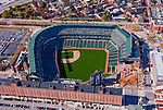 Baltimore MD Aerial view of Camden Yards, home of the Baltimore Orioles