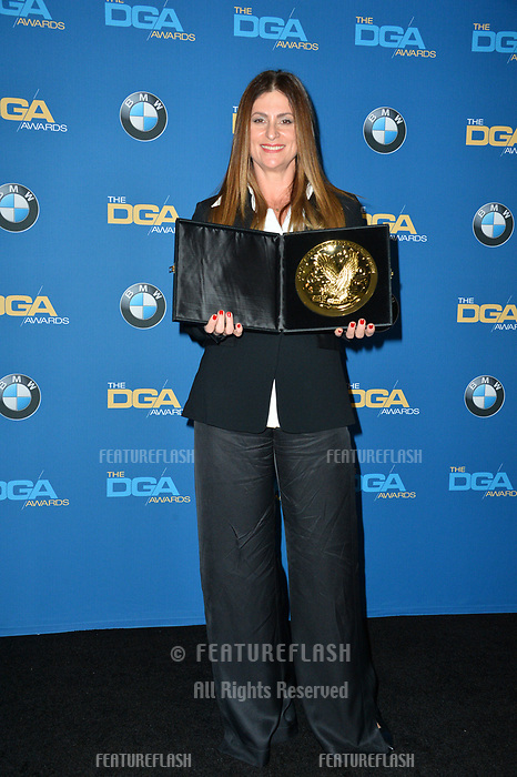 Niki Caro at the 70th Annual Directors Guild Awards at the Beverly Hilton Hotel, Beverly Hills, USA 03 Feb. 2018<br /> Picture: Paul Smith/Featureflash/SilverHub 0208 004 5359 sales@silverhubmedia.com