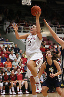 STANFORD, CA - NOVEMBER 7:  Jayne Appel of the Stanford Cardinal during Stanford's 87-41 win over Vanguard on November 7, 2008 at Maples Pavilion in Stanford, California.