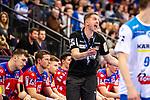 Jens Buerkle (HBW Balingen-Weilstetten C1) beim Spiel in der Handball Bundesliga, TVB 1898 Stuttgart - HBW Balingen-Weilstetten.<br /> <br /> Foto © PIX-Sportfotos *** Foto ist honorarpflichtig! *** Auf Anfrage in hoeherer Qualitaet/Aufloesung. Belegexemplar erbeten. Veroeffentlichung ausschliesslich fuer journalistisch-publizistische Zwecke. For editorial use only.