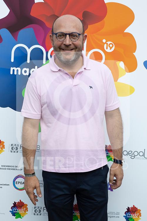 Presentation of the lgtb pride party of Madrid. July 3, 2019. (ALTERPHOTOS/JOHANA HERNANDEZ)