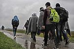 refugee Hungry - Serbia border , ph © Andreja Restek