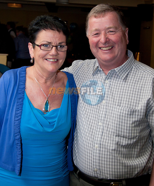 Lily Gallagher and Jim Hughes, who both celebrated their 60th Birthday in the Star and Crescent..Picture: Shane Maguire / www.newsfile.ie.