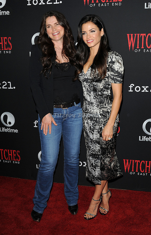 Julia Ormond and Jenna Dewan-Tatum arriving at the Witches of East End Comic-Con Party 2014 held at The Tipsy Crow in San Diego, Ca. July 24, 2014.
