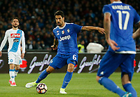Sami Kheidera  during the  italian serie a soccer match,between SSC Napoli and Juventus       at  the San  Paolo   stadium in Naples  Italy , April 02, 2017