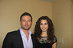 """- A Tribute to Pine Valley - All My Children's Alicia Minshew """"Kendall"""" and Jacob Young """"ex JR and """"Rick Forrester"""" on The Bold and the Beautiful on February 16, 2013 with fans for Q&A, autographs, photos at Foxwoods Resorts Casino in Mashantucket, CT and February 17, 2013 at Valley Forge Casino Resort in King of Prussia, PA. (Photo by Sue Coflin/Max Photos)"""