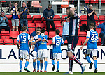 12.05.2018 St Johnstone v Ross County: David Wotherspoon takes the acclaim for his goal