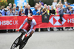 Kamil Gradek (POL) in action during the Men Elite Individual Time Trial of the UCI World Championships 2019 running 54km from Northallerton to Harrogate, England. 25th September 2019.<br /> Picture: Eoin Clarke | Cyclefile<br /> <br /> All photos usage must carry mandatory copyright credit (© Cyclefile | Eoin Clarke)