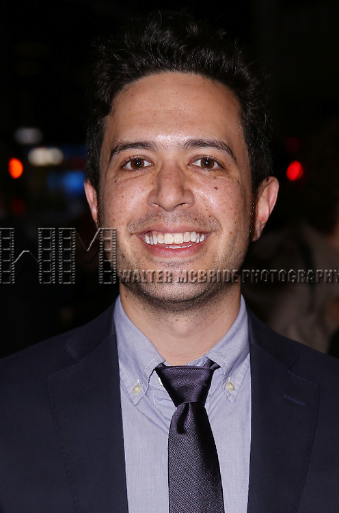 Adam Gwon attends 'The Robber Bridegroom' Off-Broadway Opening Night performance at Laura Pels Theatre on March 13, 2016 in New York City.