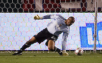 Chivas USA goalkeeper Zach Thornton makes a save. Los Tigres de UANL defeated the Chivas USA 2-1 during a 2009 SuperLiga match at Home Depot Center stadium in Carson, California on Saturday evening June 20, 2009.   .