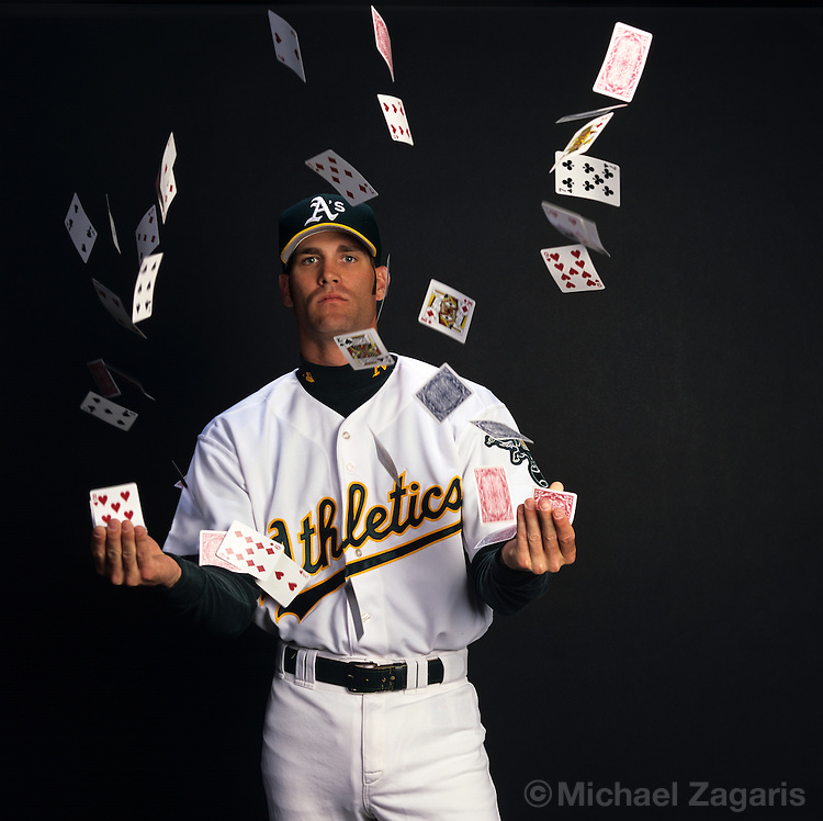 Tim Hudson, pitcher, Oakland Athletics