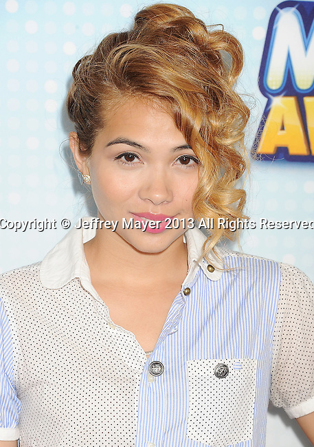 LOS ANGELES, CA- APRIL 27: Actress Hayley Kiyoko arrives at the 2013 Radio Disney Music Awards at Nokia Theatre L.A. Live on April 27, 2013 in Los Angeles, California.