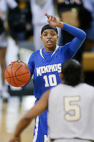 March 3, 2011: Memphis guard Bilqis Abdul-Qaadir (10) during second half womens Conference USA NCAA basketball game action between the Memphis Lady Tigers and the Central Florida Knights. Central Florida defeated Memphis 70-52 at the UCF Arena Orlando, Fl.