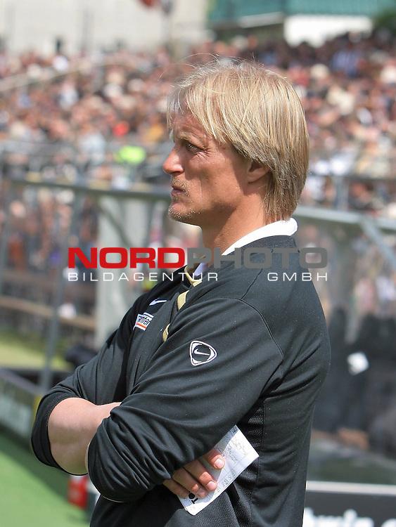 2.Liga FBL 2008/2009  31.Spieltag R&uuml;ckrunde<br /> FC St.Pauli vs. FSV Mainz 05<br /> <br /> <br /> Mainz Trainer J&ouml;rn Andersen<br /> <br /> Foto &copy; nph (nordphoto)<br /> <br /> *** Local Caption ***