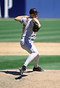 CIRCA 1997: Jimmy Key #21 of the Baltimore Orioles pitching during a game from his 1997 season with the Baltimore Orioles. Jimmy Key played for 15 seasons  with 3 different teams and was a 5-time All Star.(Photo by: 1997 SportPics)  *** Local Caption *** Jimmy Key