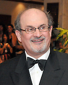 Washington,DC - April 26, 2008 -- Salman Rushdie arrives at the Washington Hilton Hotel in Washington, D.C. on Saturday, April 26, 2008 for the annual White House Correspondents Association (WHCA) Dinner..Credit: Ron Sachs / CNP.(RESTRICTION: NO New York or New Jersey Newspapers or newspapers within a 75 mile radius of New York City)