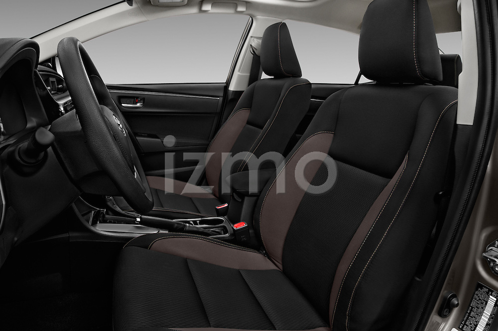 Front seat view of 2017 Toyota Corolla LE-Eco-AT 4 Door Sedan Front Seat  car photos
