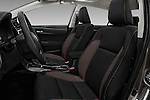 Front seat view of 2018 Toyota Corolla LE-Eco-AT 4 Door Sedan Front Seat  car photos
