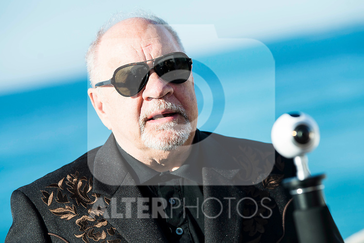 "American screenwriter and director Paul Schrader during interview with Making Off of the film ""Dog Eat Dog"" at Festival de Cine Fantastico de Sitges in Barcelona. October 11, Spain. 2016. (ALTERPHOTOS/BorjaB.Hojas)"