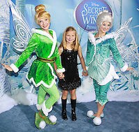 NEW YORK, NY - OCTOBER 20:  Faith Wladyka at the New York Premiere of Disney's Secret Of The Wings at AMC Loews Lincoln Square 13 theater on October 20, 2012 in New York City. © Felicia Franco/MediaPunch Inc. /NortePhoto