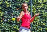 Hilversum, Netherlands, August 9, 2017, National Junior Championships, NJK, Laurèl Polman<br /> Photo: Tennisimages/Henk Koster