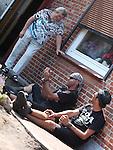 01.08.2014, Wacken, GER, W:O:A Wacken Open Air 2014, im Bild ausgelassene Stimmung auch 2014 in Sacken - Feature , Foto © nph / Kohring