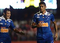 SAO PAULO SP, 20 Julho 2013 - Sao Paulo  X Cruzeiro.   Luan comemora gol durante partida valida pelo campeonato brasileiro de 2013  no Estadio do Morumbi em  Sao Paulo, neste sabado, 20. (FOTO: ALAN MORICI / BRAZIL PHOTO PRESS).