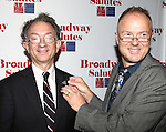 William Ivey Long & Carl Mulert attending the 'Broadway Salutes' honoring those who make Broadway Great at the Timers Square Visitors Center in Times Square,  New York City on 9/20/2012.