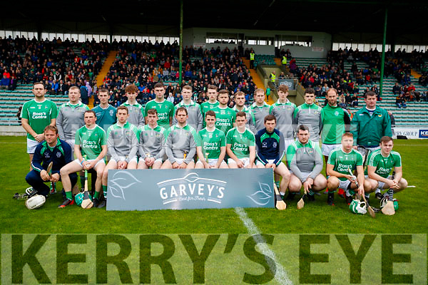 The Ballyduff team who defeated Lixnaw in the Senior County Hurling Final in Austin Stack Park on Sunday