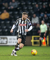 Michael O'Connor of Notts Co during the Sky Bet League 2 match between Notts County and Wycombe Wanderers at Meadow Lane, Nottingham, England on 10 December 2016. Photo by Andy Rowland.