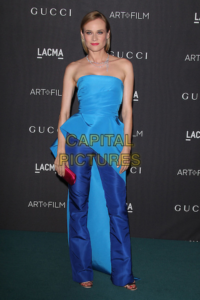 LOS ANGELES, CA - NOVEMBER 7: Diane Kruger at the LACMA Art + Film Gala honoring Alejandro G. I&ntilde;&aacute;rritu and James Turrell and presented by Gucci at LACMA on November 7, 2015 in Los Angeles, California. <br /> CAP/MPI27<br /> &copy;MPI27/Capital Pictures