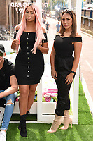 Chloe Ferry and Sophie Hasaei<br /> Cast members of Geordie Shore take Shag Pad on Tour to launch series 15, London. <br /> <br /> <br /> ©Ash Knotek  D3293  10/08/2017