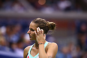 6th September 2017, Flushing Meadowns, New York, USA; KAROLINA PLISKOVA (CZE) during day ten match of the 2017 US Open on September 06, 2017 at Billie Jean King National Tennis Center, Flushing Meadow, NY.