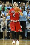 09 November 2012: Gardner-Webb's Tyler Strange. The University of North Carolina Tar Heels played the Gardner-Webb University Runnin' Bulldogs at Dean E. Smith Center in Chapel Hill, North Carolina in an NCAA Division I Men's college basketball game. UNC won the game 76-59.