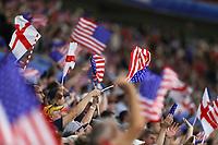 Lyon (França), 02/07/2019 - Copa do Mundo de Futebol Feminino / Inglaterra x Estados Unidos - <br />   Torcedores dos Estados Unidos durante partida contra a Inglaterra jogo válido pelas semifinais da Copa do Mundo de Futebol Feminino no Estádio de Lyon na França nesta terça-feira, 02. (Foto: Vanessa Carvalho/Brazil Photo Press)
