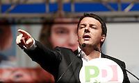 20140522 ROMA-POLITICA: RENZI CHIUDE LA CAMPAGNA ELETTORALE DEL PARTITO DEMOCRATICO PER LE EUROPEE