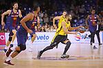 League ACB-ENDESA 2017/2018 - Game: 11.<br /> FC Barcelona Lassa vs Iberostar Tenerife: 91-93.<br /> Davin White.