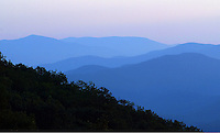 Blue Ridge mountain scene in Nelson County, Virginia. Photo/Andrew Shurtleff