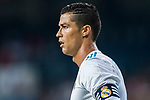 Cristiano Ronaldo of Real Madrid reacts during the Santiago Bernabeu Trophy 2017 match between Real Madrid and ACF Fiorentina at the Santiago Bernabeu Stadium on 23 August 2017 in Madrid, Spain. Photo by Diego Gonzalez / Power Sport Images