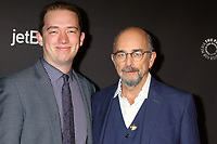 "LOS ANGELES - MAR 22:  Gus Schiff, Richard Schiff at the 2018 PaleyFest Los Angeles - ""The Good Doctor"" at Dolby Theater on March 22, 2018 in Los Angeles, CA"